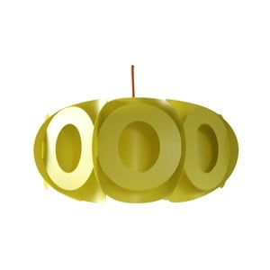 Klosz Oval, limonkowy