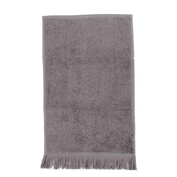 Komplet 6 szarych ręczników bawełnianych Casa Di Bassi Soft, 30x50 cm