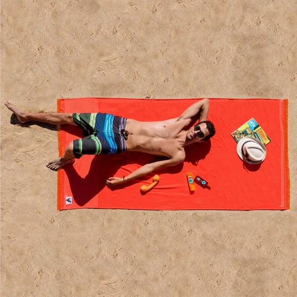 Plażowy ręcznik Origama L Tomato