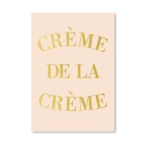 Plakat Americanflat Creme de la Creme, 30x42 cm