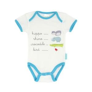 Dziecięce body z krótkim rękawem Hippo, 3-6 miesięcy