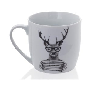 Kubek porcelanowy Sabichi Hipster Stag, 350ml