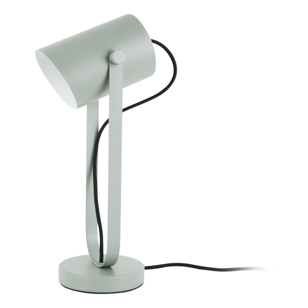 Zielona lampa stołowa Leitmotiv Snazzy