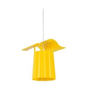 Żółty ogrodowy lampion wiszący Luciana