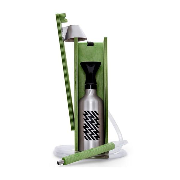 Designerska fajka wodna Hekkpipe Active, zielona