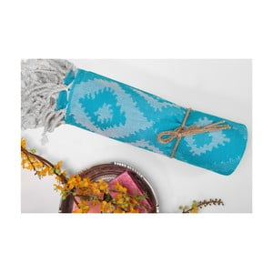 Ręcznik hammam Joy, niebieski