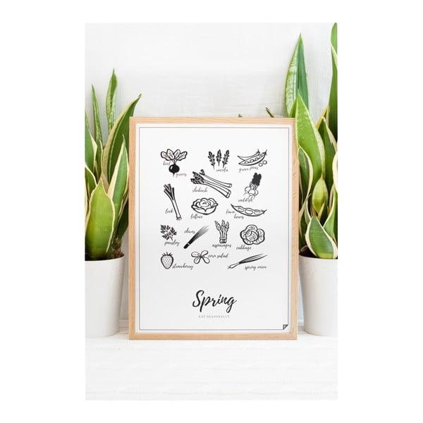 Zestaw 4 plakatów Follygraph 4 Seasons, 21 x 30cm