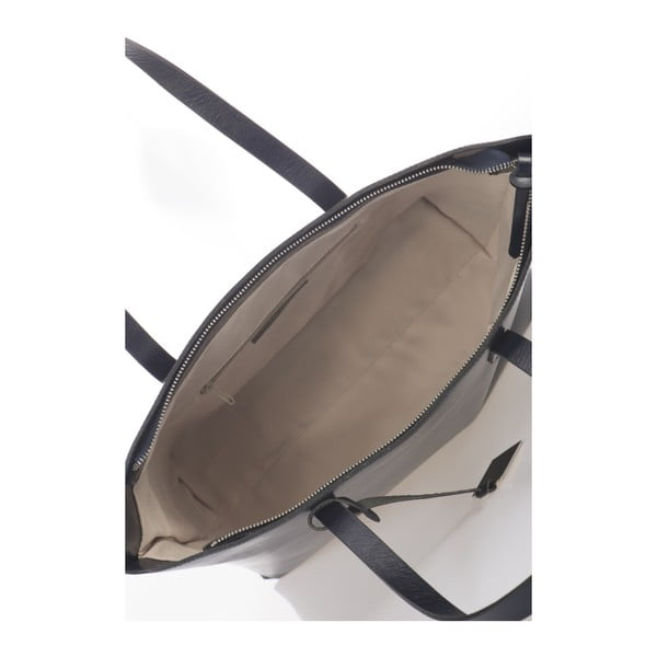 Ciemnoniebieska torebka skórzana Giorgio Costa Gerogina
