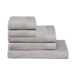 Zestaw 5 ręczników Pure Glacier