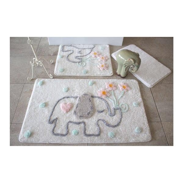 Zestaw 3 dywaników łazienkowych Alessia Fil