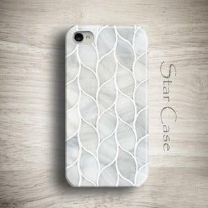 Etui na iPhone 4/4S Marble Grey