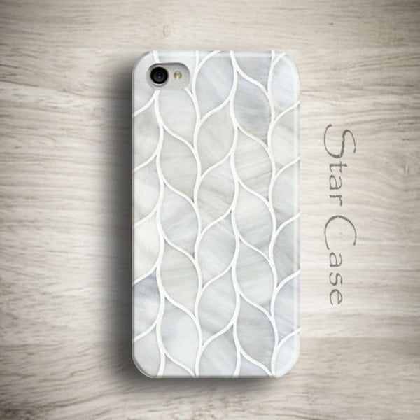 Etui na iPhone 4/4S Marble Grey