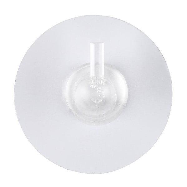Zestaw 2 haczyków z przyssawkami Static-Loc White, do 8 kg