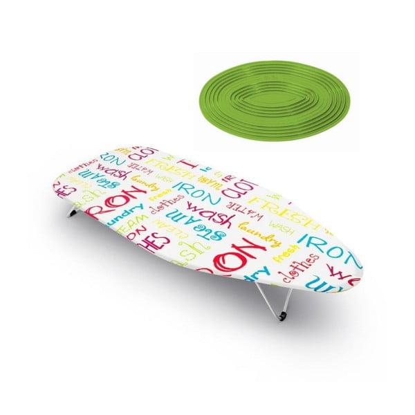 Zestaw deski do prasowania i podkładki Mini Words