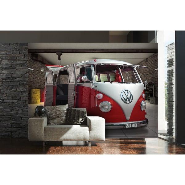 Wielkoformatowa tapeta Czerwony VW, 315x232 cm