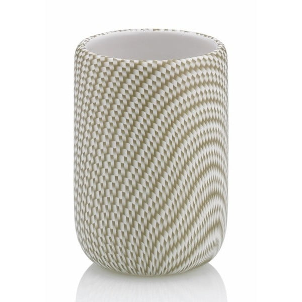 Beżowy kubek ceramiczny Kela Moreau