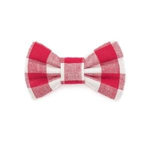 Mucha dla psa Funky Dog Bow Ties, roz. S, w czerwono-białą kratkę