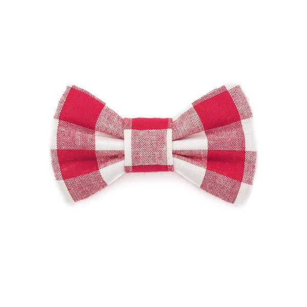 Mucha dla psa Funky Dog Bow Ties, roz. L, w czerwono-białą kratkę