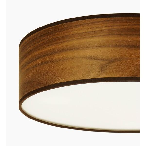 Lampa sufitowa w kolorze drewna orzechowego Sotto Luce TSURI,Ø40cm