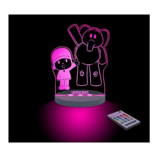 Dziecięca lampka nocna LED Aloka Pocoyo & Eli