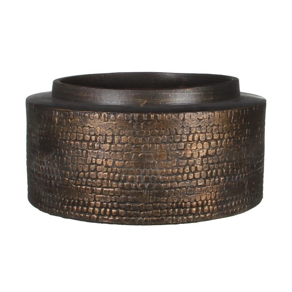 Wazon ceramiczny Brasa Black Copper, 30 cm