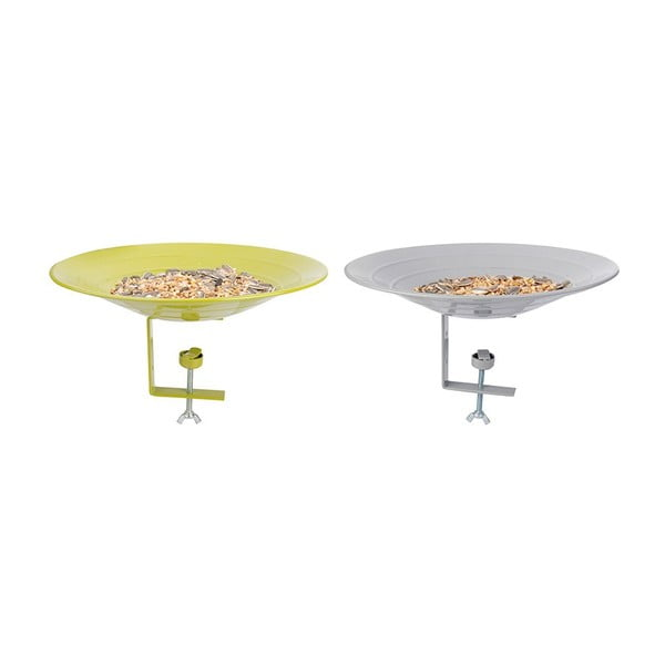 Zestaw 2 karmników/poidełek dla ptaków Esschert Design Magic