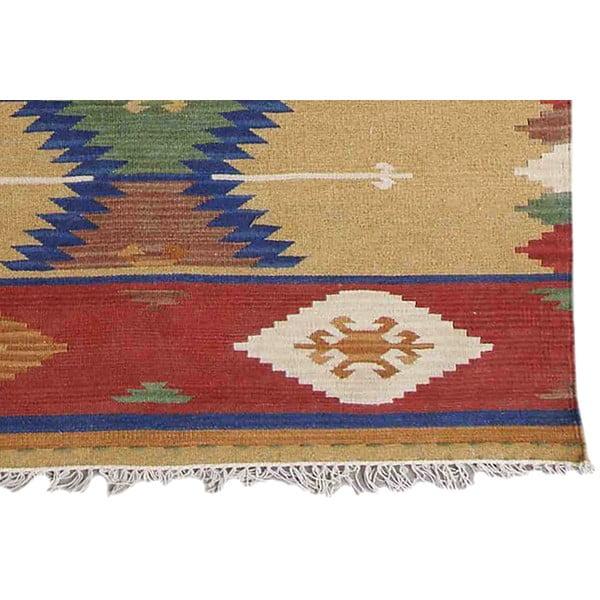 Ręcznie tkany dywan Kilim Classic K77, 125x185 cm