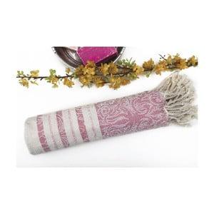 Ręcznik hammam Fancy Pink, 95x175 cm