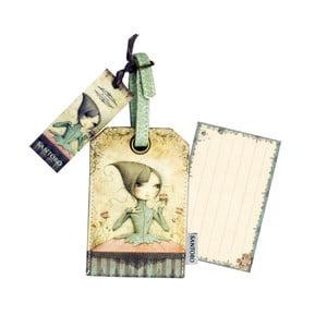 Etykieta na walizkę Santoro London Mirabelle If Only