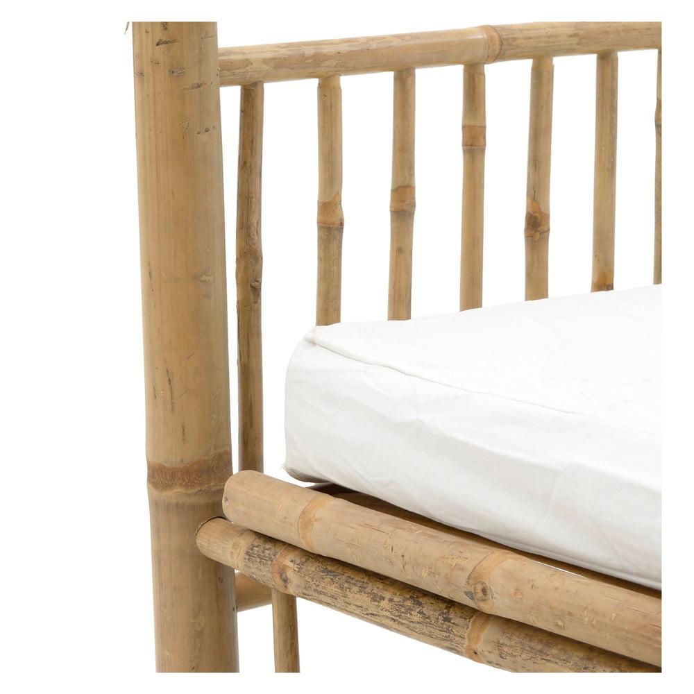 Bambusowe łóżko Ogrodowe Z Baldachimem Inart Bamboo Bonami
