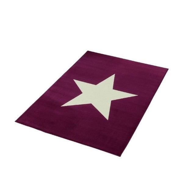 Bordowy dywan dziecięcy Hanse Home City & Mix, 140x200 cm