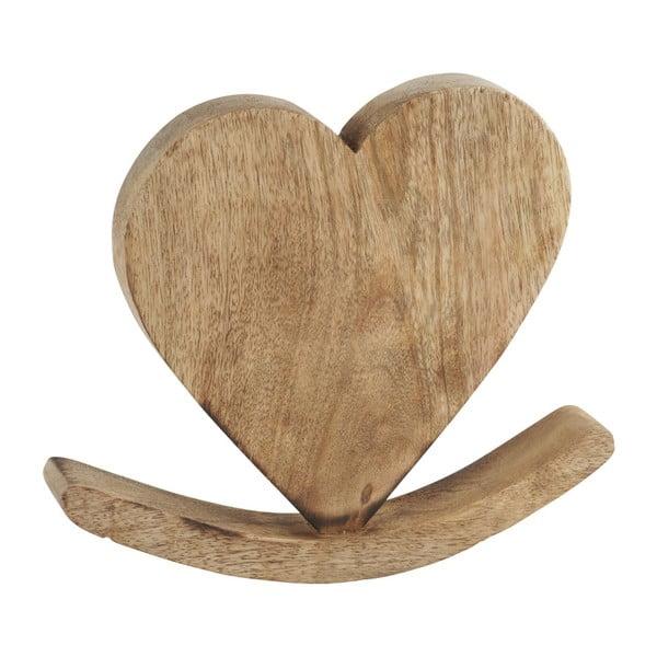 Dekoracja Athezza Heart Balance, 24 cm
