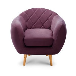 Fotel Diva Criss Cross Purple