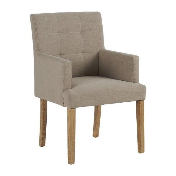 Beżowy fotel Athezza Kimio