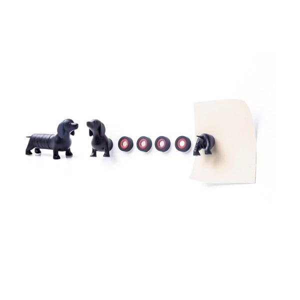 Zestaw magnesów QUALY Magnetic Dog, jamnik