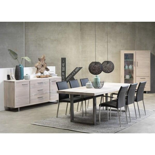 Rozkładany stół jadalniany Canett Moxie White, 240 cm