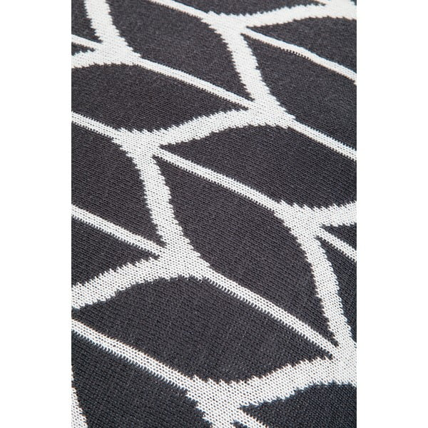 Poduszka z wypełnieniem Grey and White 8, 43x43 cm