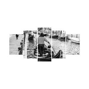 Wieloczęściowy obraz Black&White no. 84, 100x50 cm
