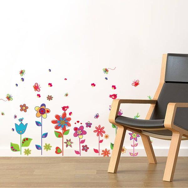 Naklejka na ścianę Walplus Kolorowa łąka