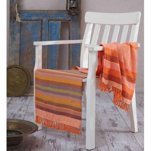 Ręcznik hammam Renkli Orange, 100x180 cm