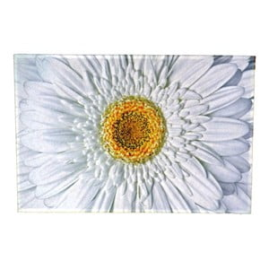 Dywanik Flower White 75x50 cm