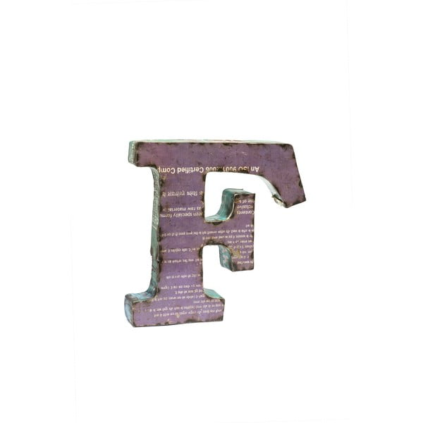 Litera Alfabeto F