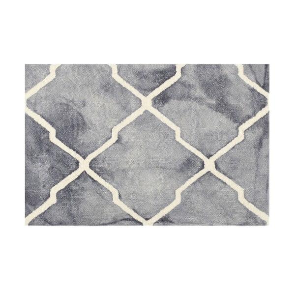 Szary dywan tuftowany ręcznie Dywan Bakero Batik, 153x244 cm