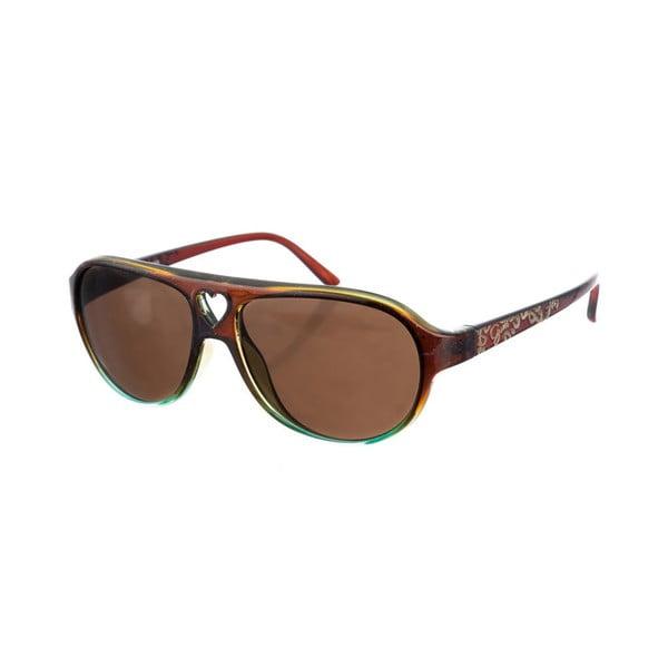 Dziecięce okulary przeciwsłoneczne Guess 120 Crystal Brown