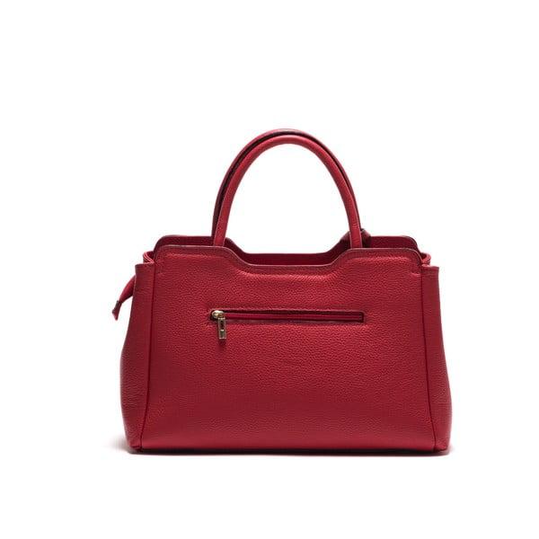 Skórzana torebka Anna Luchini 1171 Rosso