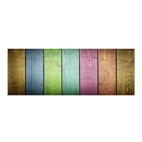 Winylowy dywan Cocina Tablas de Colores,50x140 cm