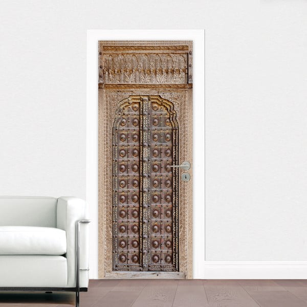 Naklejka na drzwi Brama