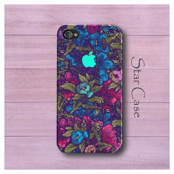 Etui na iPhone 4/4S Garden Flowers