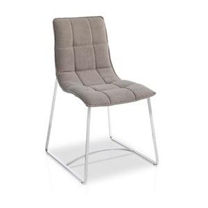 Brązowe krzesło Ángel Cerdá Luisa