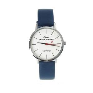Zegarek VeryMojo Paris Mon Amour, niebieski